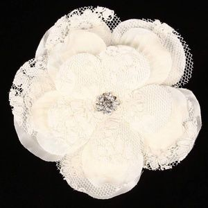 Lori London LRSG-L Bridal Hair Flower